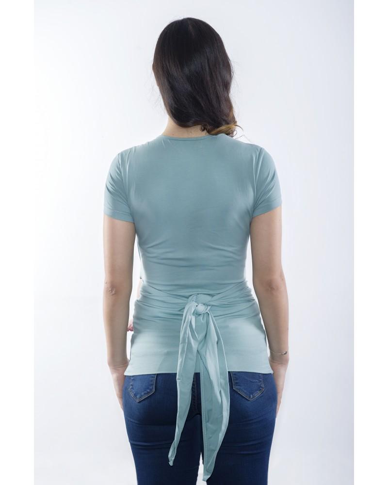 CAMISETA PORTABEBÉ tuquesa de espalda