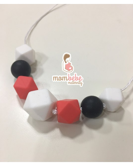 COLLAR DE LACTANCIA SILICONA MICKEY