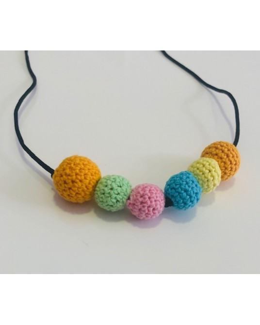COLLAR DE LACTANCIA ARCOIRIS