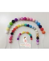 modelo de bolas tamaños y colores